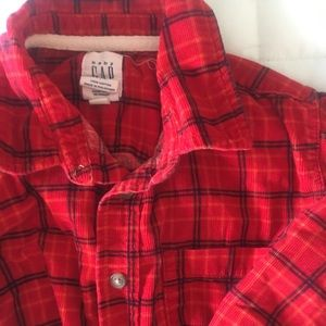 Baby Gap | flannel